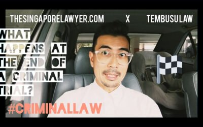 What happens at the end of a Criminal Trial (Submissions and Verdict)?