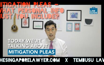 Mitigation pleas: What personal information should you include?